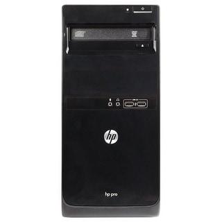 Refurbished HP Pro 3500 Tower Intel Core I5 3470 3.2G 4G DDR3 250G DVD Win 7 Pro 64 1 Year Warranty - Black