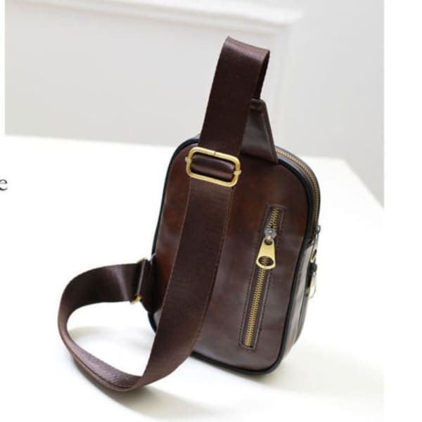 Men/'s Chest Sling Packs Shoulder Cross Body Bag Cycle Day Packs Satchel Backpack