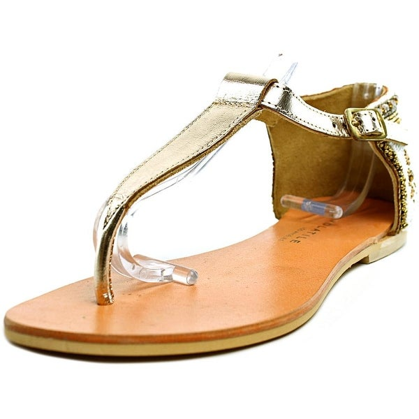 Very Volatile Midway Open Toe Leather Thong Sandal