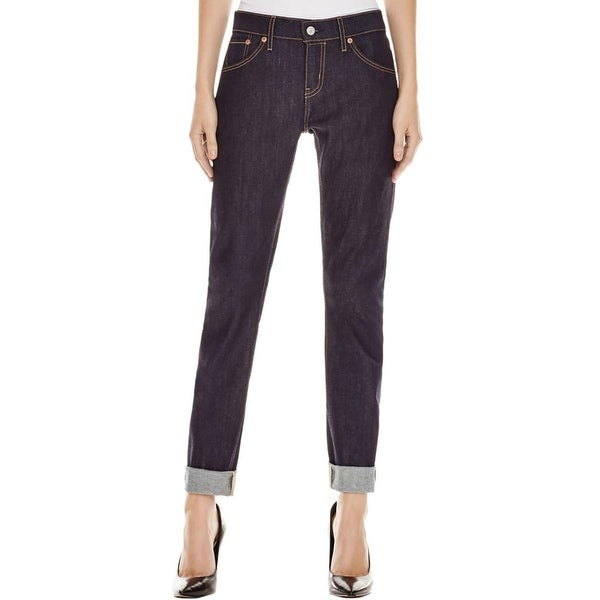 Levi's Womens 501 Skinny Jeans Low Rise Stretch