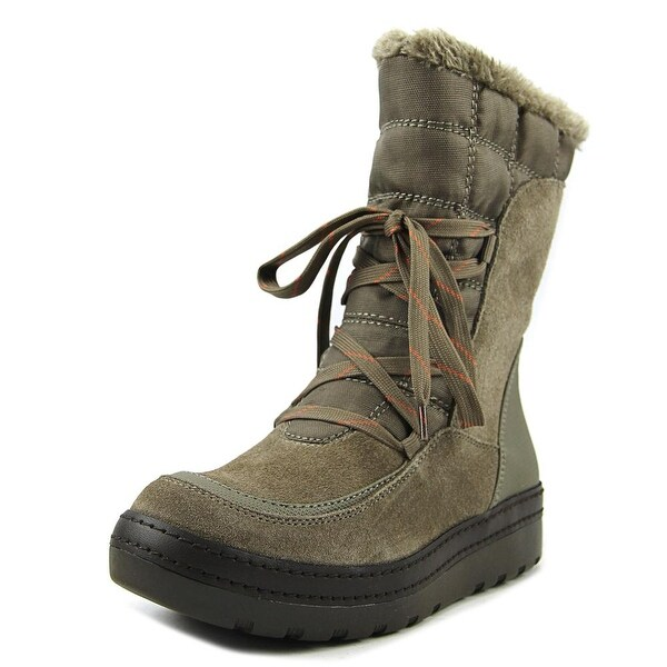 Baretraps Lancy Women Round Toe Suede Tan Winter Boot