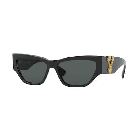 Versase VE4383F GB1/87 56 Black Woman Cat Eye Sunglasses