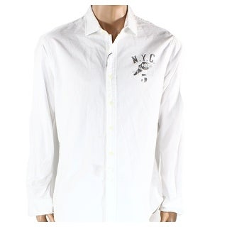 Polo Ralph Lauren NEW White Oxford Mens Size Medium M Button Down Shirt
