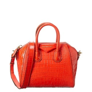 Link to Givenchy Antigona Mini Croc-Embossed Leather Satchel Similar Items in Shop By Style