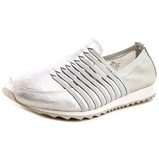 Easy Spirit Lehni Women N/S Round Toe Synthetic Silver Walking Shoe