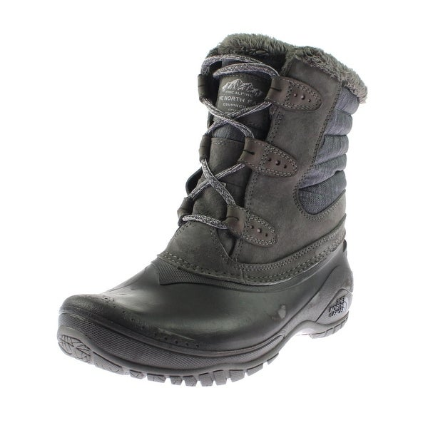 054b7a39a Shop The North Face Womens Shellista II Shorty Winter Boots Suede ...