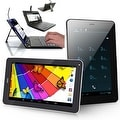 "Indigi® 7.0"" Dual-Core 2-in-1 SmartPhone + TabletPC w/ Android 4.2 JellyBean Dual-Cameras + WiFi + Keyboard Case Included - Thumbnail 0"