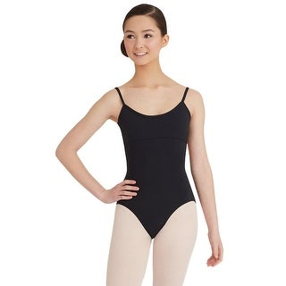Capezio Adult Twist Back Leotard, Black, Medium