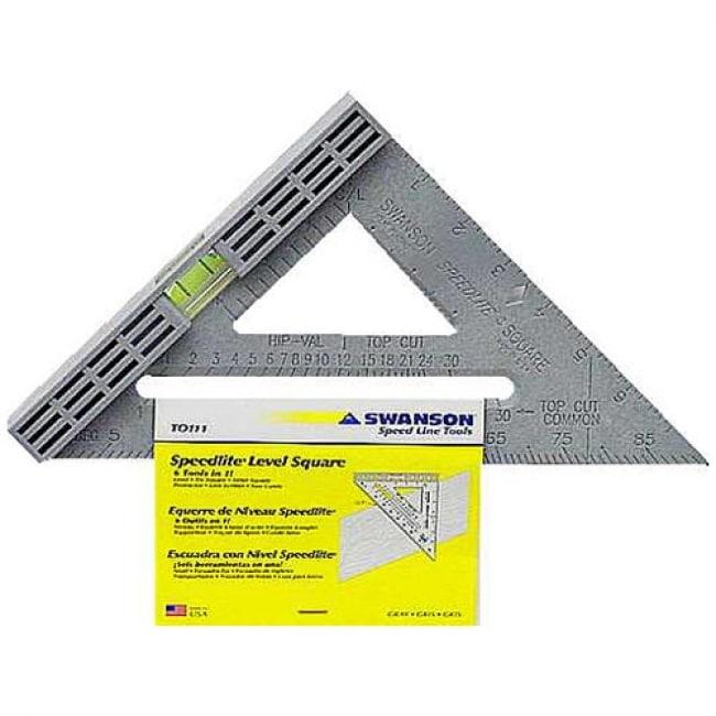Swanson T0111 Square Speed Levl 8 Gray