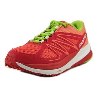 Salomon Sense Pulse Men Round Toe Synthetic Running Shoe