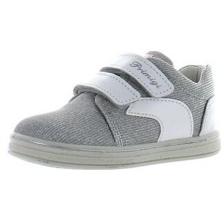 Primigi Girls Eiko Silver Casual Fashion Sneakers Shoes