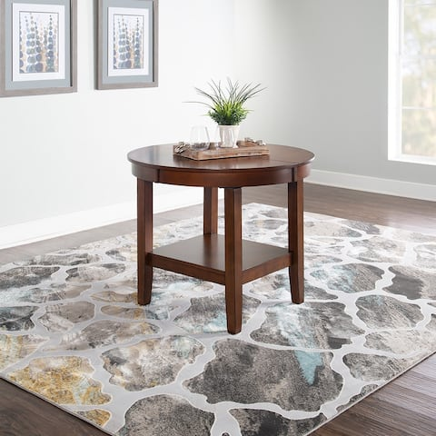 Powell Anderson Brown Dining Table