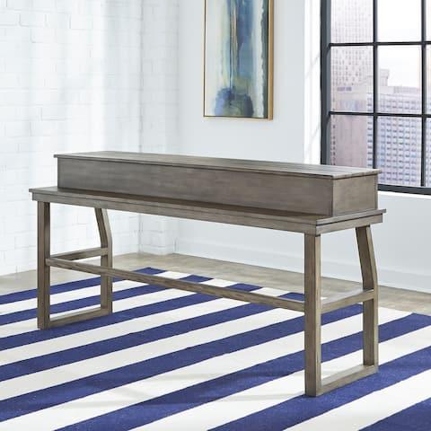 Hayden Way Grey Wash Console Bar Table