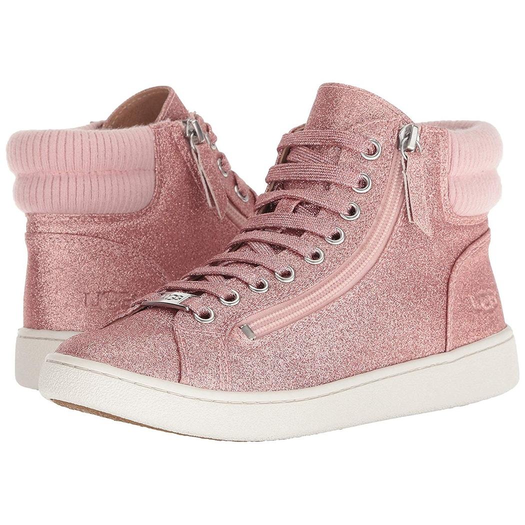 UGG Women's W Olive Glitter Sneaker - 5