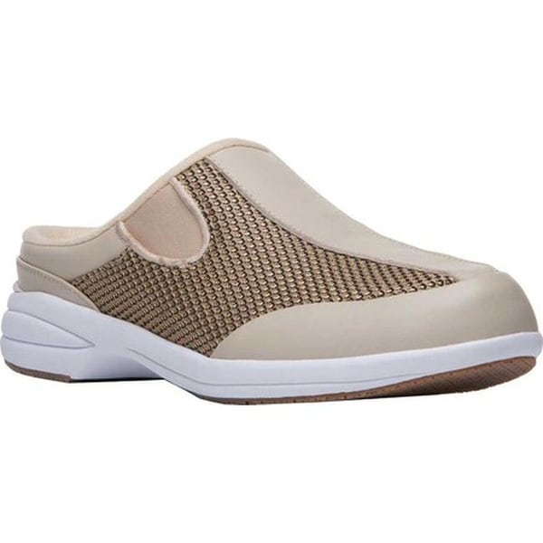 54639d13b261 Shop Propet Women s Washable Walker Mule Gold Mesh Full Grain Leather - Free  Shipping Today - Overstock - 19473774