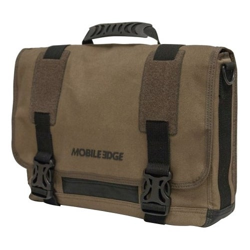 """""""Mobile Edge MEUME9 Mobile Edge ECO Carrying Case (Messenger) for 15"""" Notebook, MacBook Pro, Tablet, iPad, Ultrabook -"""