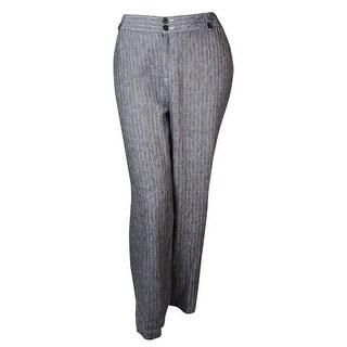 INC International Concepts Women's Wide-leg Striped Pants - baseball stripe - 6