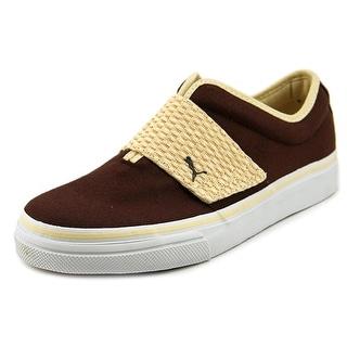 Puma El Rey Round Toe Canvas Sneakers