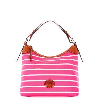 Dooney & Bourke Eastham Large Erica (Introduced by Dooney & Bourke at $169 in Nov 2015) - hot pink hot pink wh