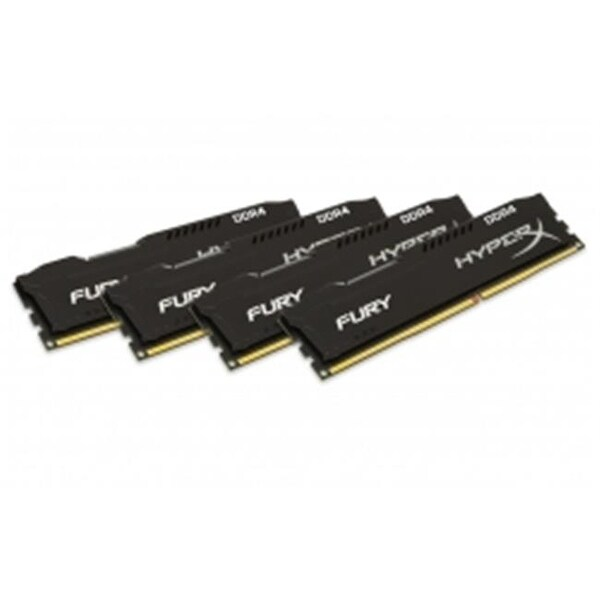 Kingston HX424C15FBK4-64 64GB 2400MHz Hyperx Fury Kit of 4 - Black