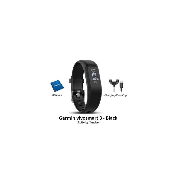 Shop Garmin vivosmart 3 Activity Tracker (Black- Small