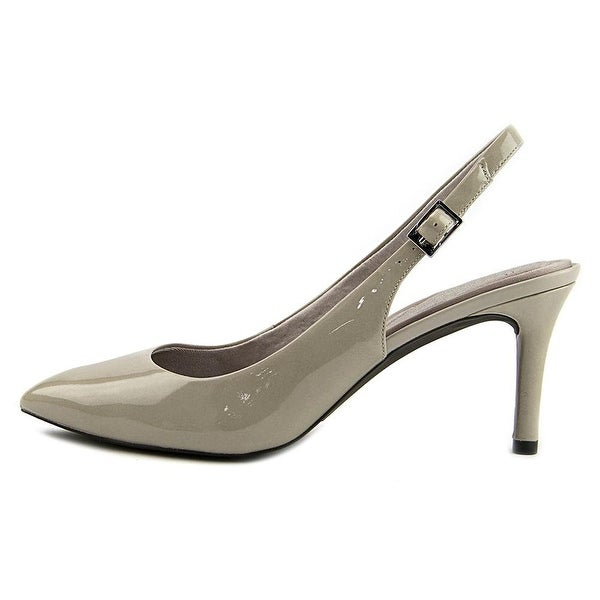 Rockport Womens TM75MMPTH Sling Leather Pointed Toe SlingBack Classic Pumps - 5