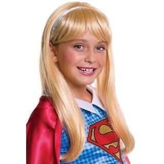 DC Super Hero Girls Supergirl Costume Wig Child One Size