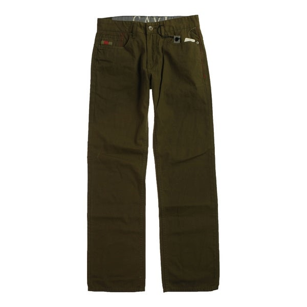 CAVI Mens Kirtldenim Relaxed Jeans, brown, 32W x 34L. Opens flyout.