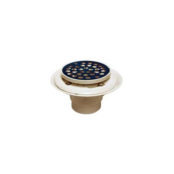 """Proflo PF42801 2"""" or 3"""" PVC Tile Shower Drain with Stainless Steel Strainer - STAINLESS STEEL - N/A"""
