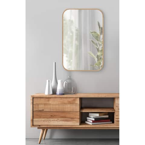 Kate and Laurel Nordlund Framed Wall Mirror - 23x35