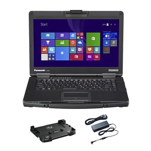 """Panasonic CF-54D2902KM Bundle 14-inch Semi-Rugged Laptop"""