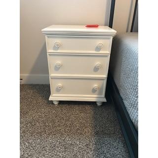 The Gray Barn Mae 3-drawer Nightstand