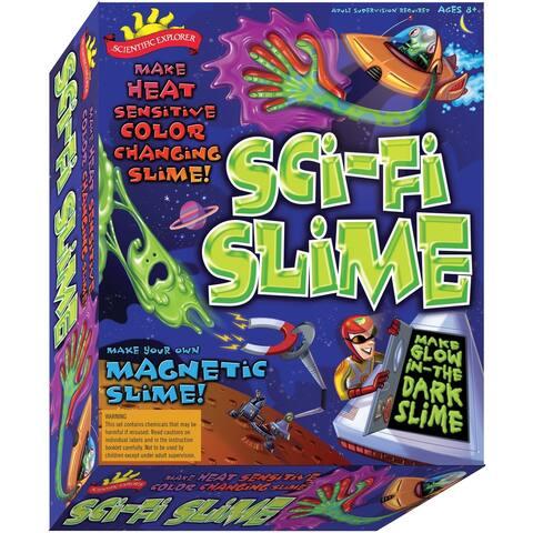 Scientific Explorers Sci-Fi Slime Kit- - Green