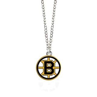 Cleanlapsports Boston Bruins Logo Pendant Necklace