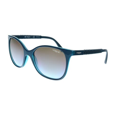 Vogue VO5032S 246948 Top Petroleum Square Sunglasses - 54-18-140