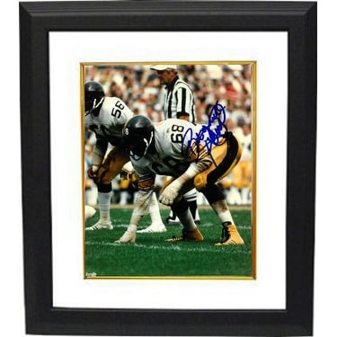 4368f64085b Shop LC Greenwood signed Pittsburgh Steelers 8x10 Photo Custom Framed white  jerseyabove sig - Free Shipping Today - Overstock - 21614028