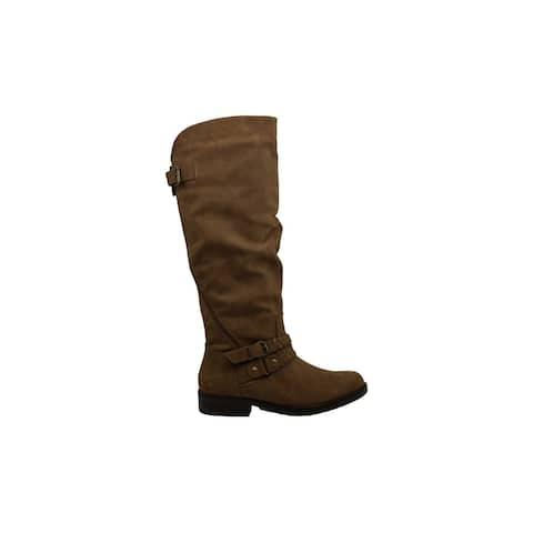 Xoxo Womens mackinley Almond Toe Knee High Fashion Boots
