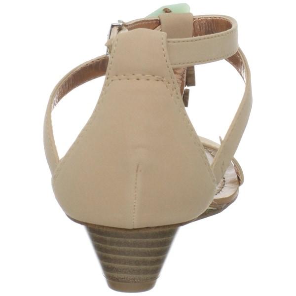 BCBGeneration Women's Bg-Tandee T-Strap Sandal - 8.5