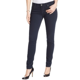 Kut From The Kloth Womens Diana Skinny Jeans Low Rise Indigo Wash