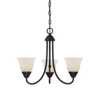 Designers Fountain 85183 Kendall 3 Light 1 Tier Mini Chandelier