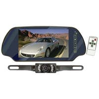 """PYLE PRO PLCM7200 7"""" LCD Mirror Monitor/Backup Night Vision Camera Kit (Without Bluetooth(R))"""
