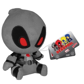 "Marvel Mopeez 5"" Plush: Grey Deadpool"