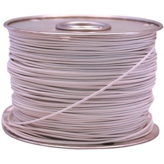 Coleman Cable 55667923 Primary Wire, 16 Gauge, 100', White