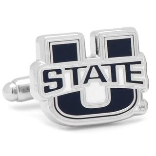 Utah State University Aggies Cufflinks - Blue