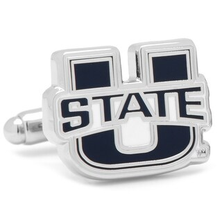 Utah State University Aggies Cufflinks - Blue