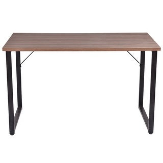 Costway Wood Computer Desk table Writing Study Workstation