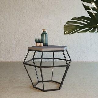 Link to Modrest Tartan Modern Concrete & Metal End Table Similar Items in Living Room Furniture