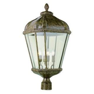 Trans Globe Lighting 5154 Four Light Up Lighting Large Outdoor Post Light from the Outdoor Collection