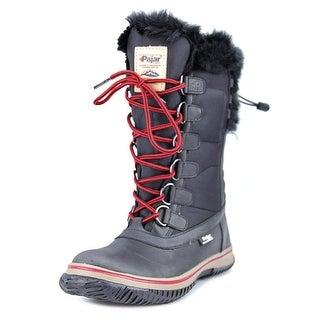 Pajar Ice Hi-Boot Women  Round Toe Synthetic Black Snow Boot