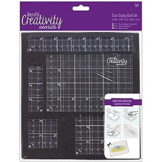 Creativity Essentials Clear Stamp Block Set-